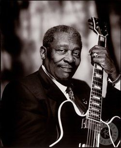 B.B. King - Legendary Blues Musician. Widely regarded as one of the greatest blues guitarists in music history, he was influential to a bevy of artists including The Beatles and Eric Clapton. Born Riley B. King, he was raised on a Mississippi plantation. He learned to play the guitar during his youth and experienced his first taste of performing on street corners for pocket change. When he came to the realization of having a career as musician, he hitchhiked a ride to Memphis and lived with…