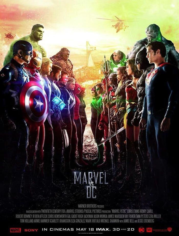 Imagine This Would Happen Who Would Win Dc Comics Vs Marvel