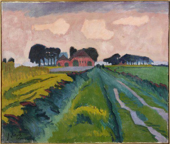 Jan Altink - De rode boerderij. De Ploeg