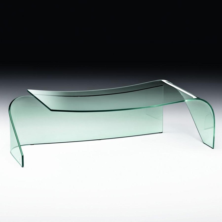 Gemini Glass Coffee Table