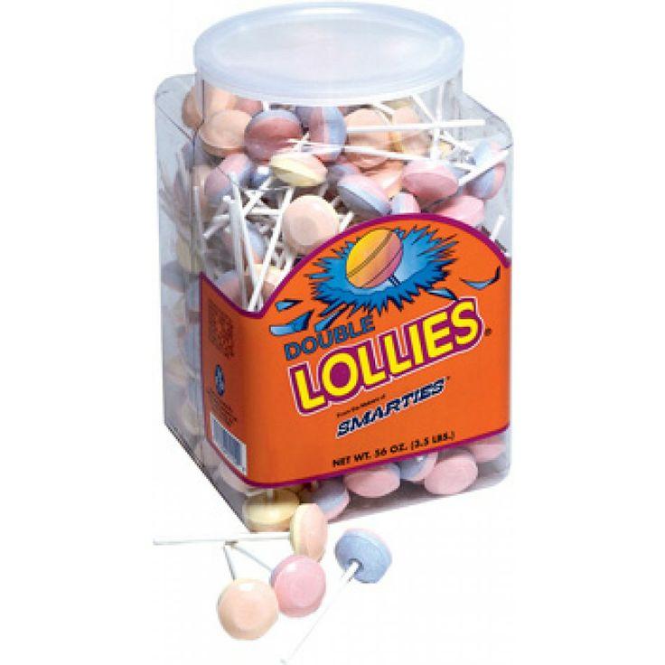 smarties double lollies tub bulk 200 count 41 209 00015 smarties lollipops double lollieswedding candywedding
