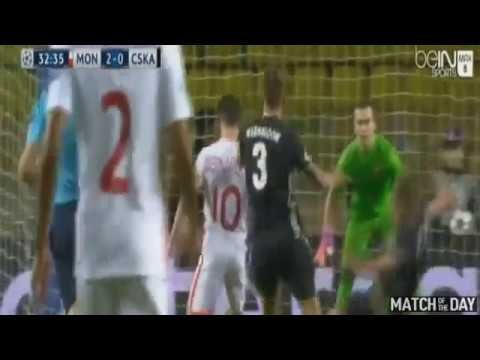 Highlights Monaco vs CSKA Moscow 3 0 All Goals Champions League 02 11 20...