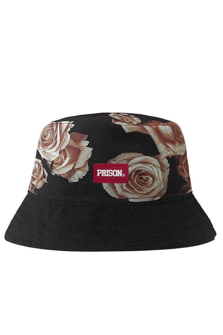 Bucket Hat Florido Prison Bandanas Femininas f1b520489d1