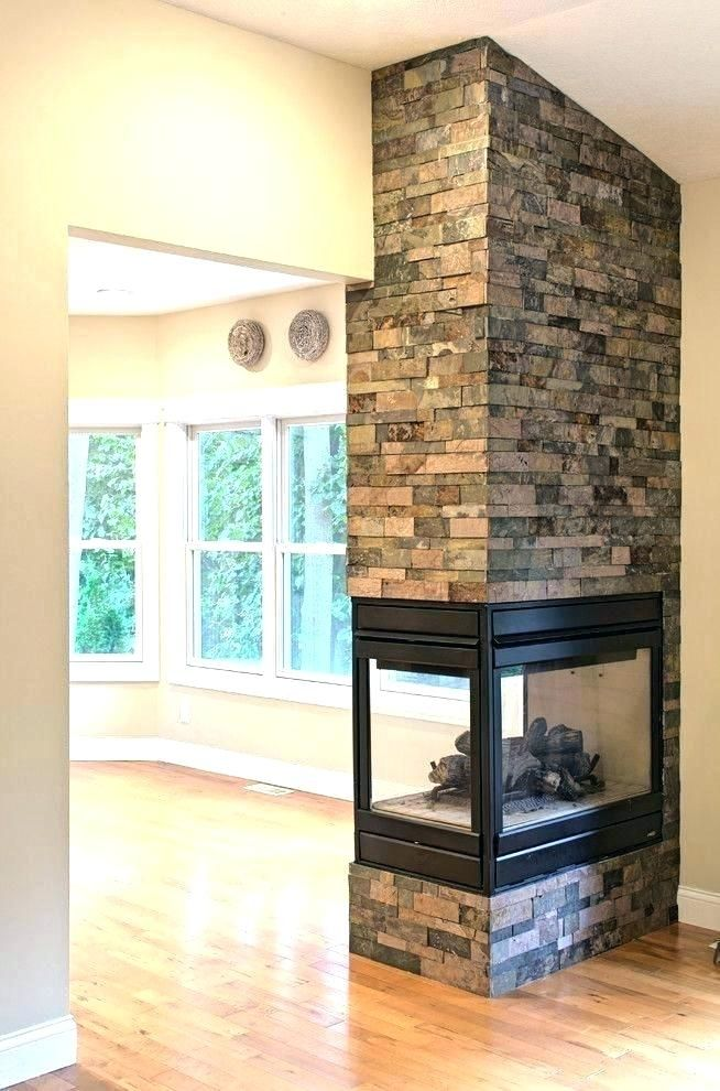 3 Sided Electric Fireplace 2 Sided Fireplace Two Sided Wood Burning Fireplace Gorgeous Double Si Freestanding Fireplace Fireplace Hearth Contemporary Fireplace
