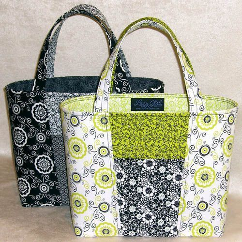 Free Purse Patterns   Claire Bag Purse Pattern by Lazy Girl Designs:
