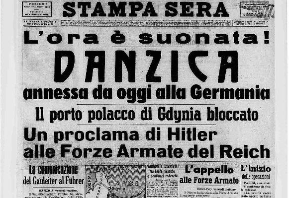seconda guerra mondiale, 1939