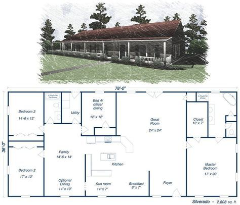 like this one too - http://www.budgethomekits.com/wp-content/uploads/2012/06/plans/metal-house-kit-steel-home-silverado.jpg:
