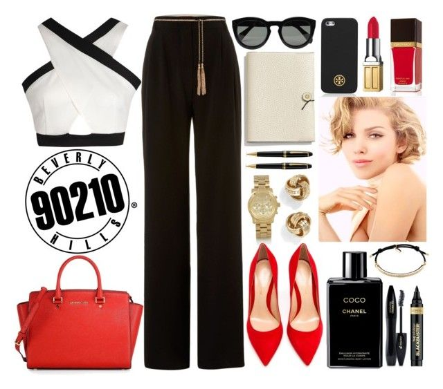 """Naomi clark 90210"" by lubna-salameh ❤ liked on Polyvore"