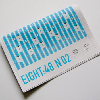 Counter Print – Eight:48 Issue 2 – £6