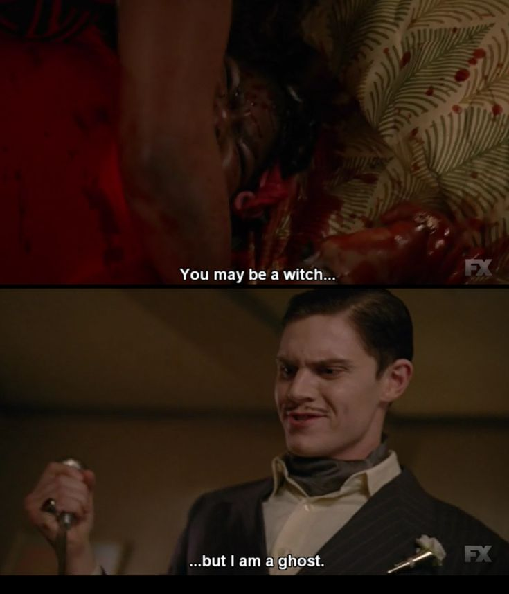 American horror story hotel, this part made me so sad because I LOVED Queenie.
