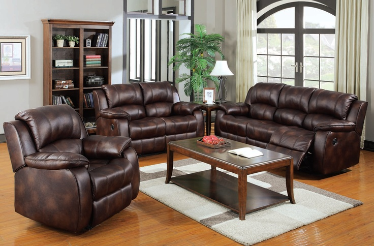 A50510 Motion Brown Polished Microfiber, 100% REPLACEMENT WARRANTY, Oversized and Over Stuffed Cozy Seating, Double Recliner Sofa, Double Recliner Loveseat, Recliner Chair | New $2599 Sale $1910.25 Friends Discounted Price $1432.69