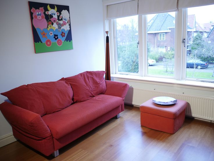 Plantsoenlaan 17, Bloemendaal. Third bedroom on the first floor.