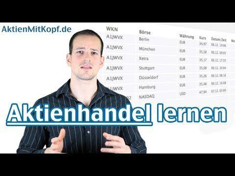 Aktienhandel lernen! Erfolgreich investieren an der Börse - AktienmitKopf.de - YouTube #aktien #börse