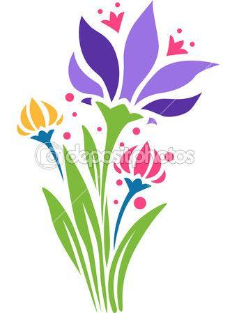 flor stencil