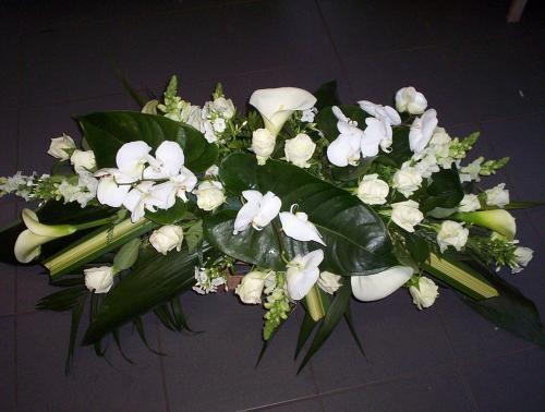 Fleurs deuil Lille 59 - Compositions florales et bouquets Tourcoing 59 - Fleuriste Lille, métropole lilloise