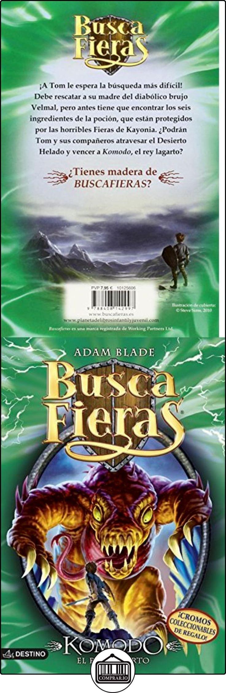 Buscafieras 31. Komodo El Rey Lagarto Adam Blade ✿ Libros infantiles y juveniles - (De 6 a 9 años) ✿ ▬► Ver oferta: http://comprar.io/goto/8408142992