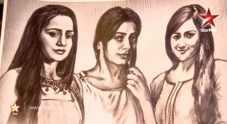Payal's sketch in Ek Hasina Thi