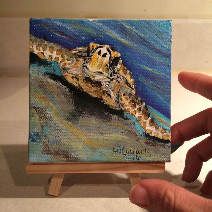 Best 25 sea turtle painting ideas on pinterest turtle for Small paintings that sell