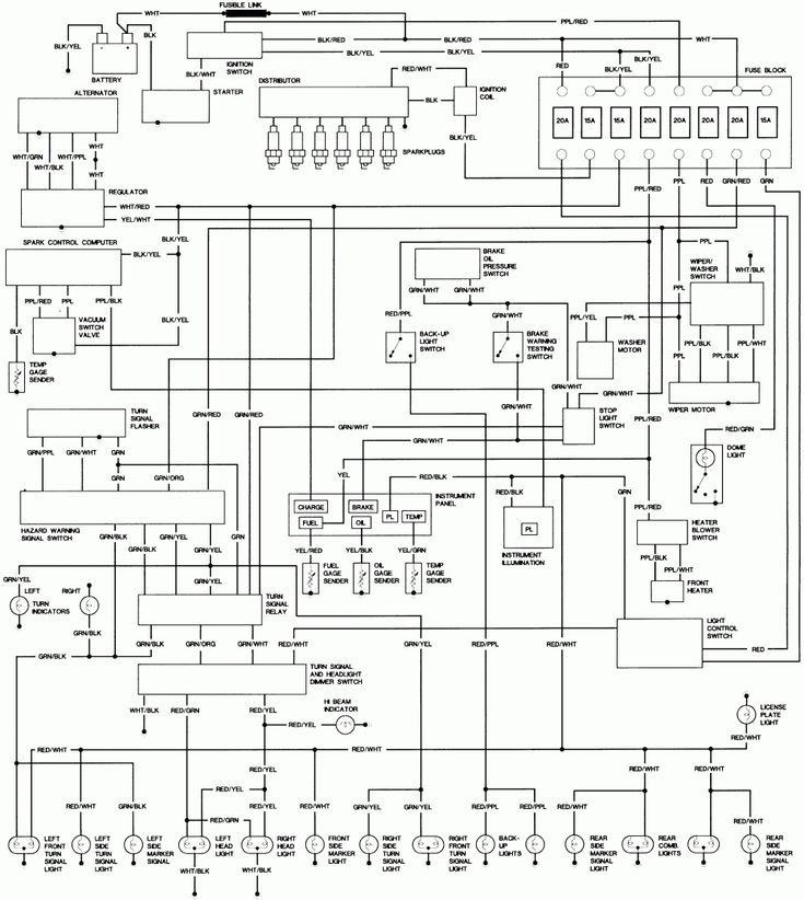 toyota coaster wiring diagram schematic