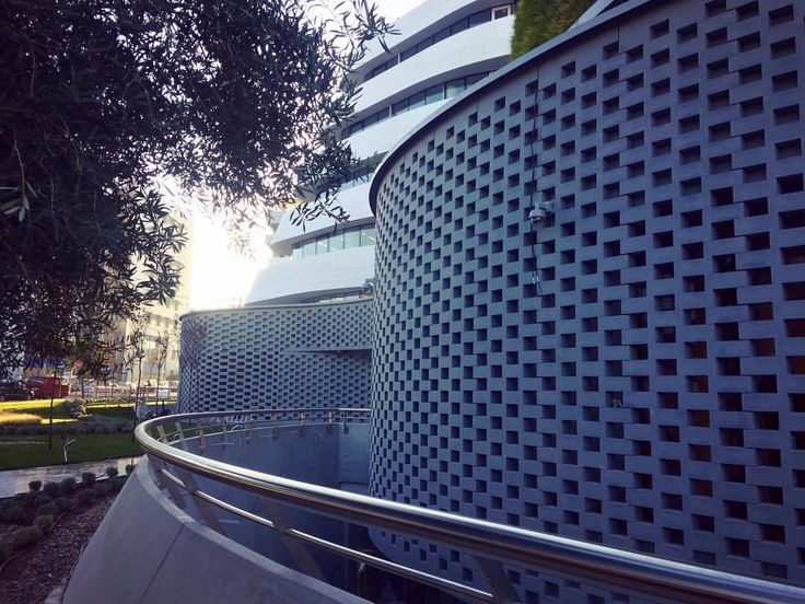 #perforated #facade #building #skin #officebuildings #innovativedesign #amazing #architecture #architecturelovers #architecturalphotography