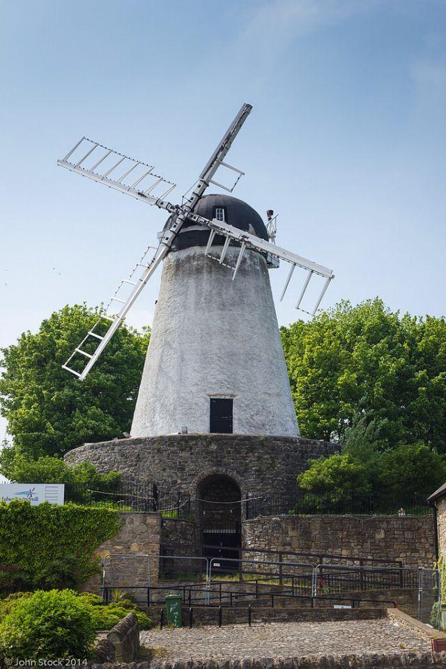 Fulwell Windmill, Sunderland, England-by John Stock Photography