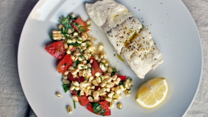 Poached Halibut | Dinner Time! | Pinterest | Recipe and Halibut