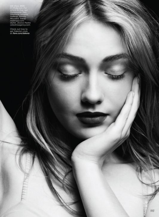 Dakota Fanning ... (credits) repinned by Jourdan Dunn on 'Hottest of the Honey Pot' click pic to follow more content like this ♥'all