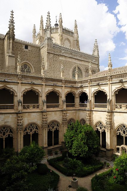 Monasterio San Juan De Los Reyes, Toledo Spain