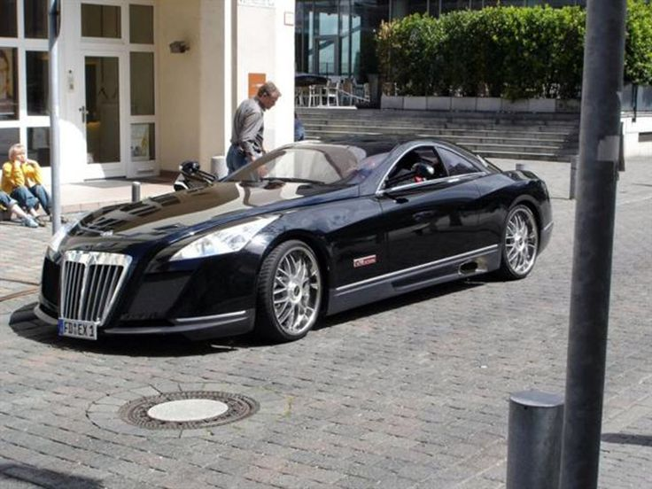 yeah...I need one of these! Eat your heart out Bruce Wayne! Maybach Exelero, 2005