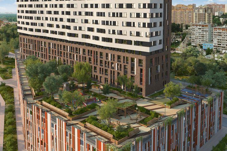 Легенда 18 - Архитектурная концепция объекта   Квартиры в новостройках Москвы