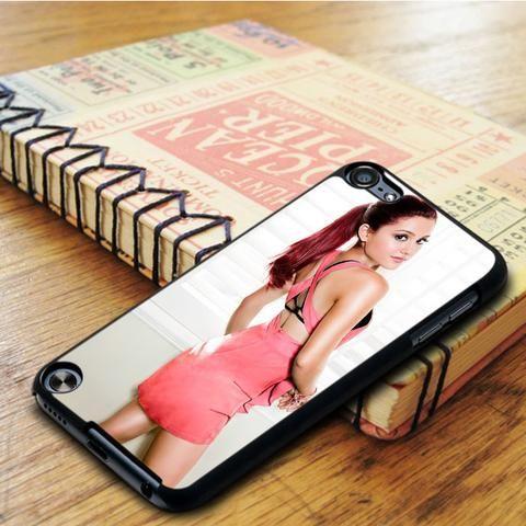 Ariane Grande Cute Pink iPod 6 Touch Case