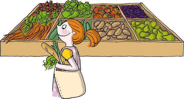 """Lebensmittel direkt vom Erzeuger: Im Hofladen, auf dem Wochenmarkt, in Bauernläden in der Stadt oder mit einer Abo-Kiste kann man Lebensmittel direkt vom Erzeuger erhalten. Wer Produkte vom Bauern kauft, er-hält manchmal auch """"anders"""" geformte Lebensmittel – z.B. eine zweibeinige Möhre, besonders dicke oder kleine Kartoffeln oder Äpfel mit dickerer Haut. Solche """"nicht makellosen"""" Produkte werden vom Lebensmitteleinzelhandel abgelehnt, da sie nicht den Richtlinien entsprechen. Sie schmecken…"""