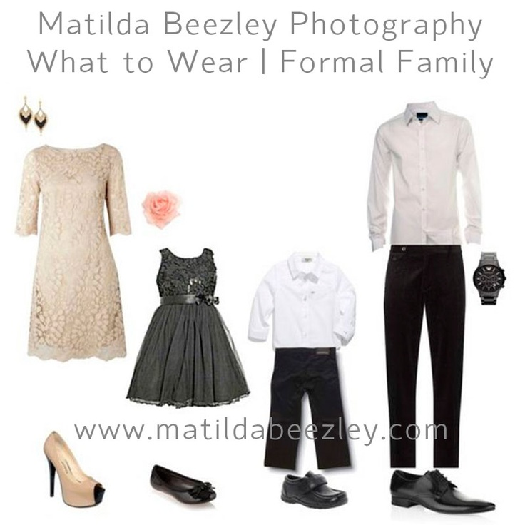 Last year's Formal Family What to Wear guide was so popular we've done a rehash. :)