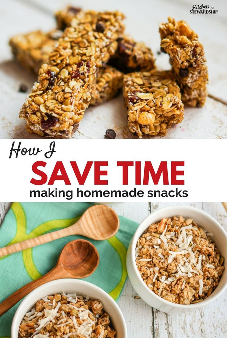 Healthy homemade granola doesn't have to be hard - tons of time-saving tips for this frugal recipe