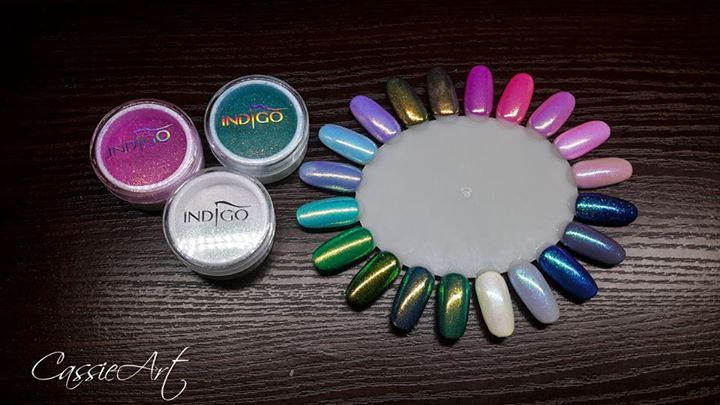 Indigo Nails Lab Polska Pastelowa Syrenka Efekt Syrenki Aquarius Efekt Syrenki…