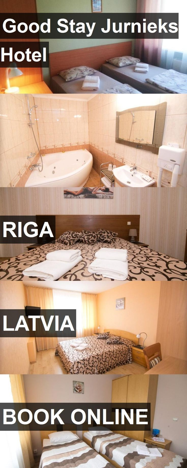 Good Stay Jurnieks Hotel in Riga, Latvia. For more information, photos, reviews and best prices please follow the link. #Latvia #Riga #travel #vacation #hotel