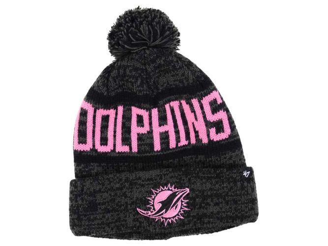 Miami Dolphins NFL Women's '47 Northmont Pom Knit Hats