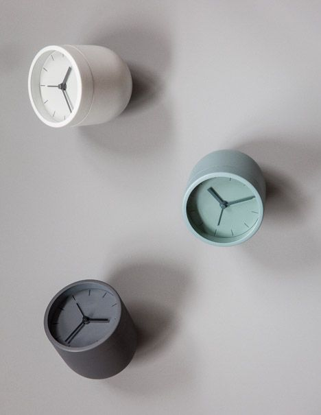 Norm Tumbler Alarm Clock by Norm Architects for Menu