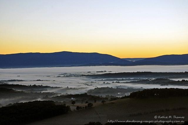 Sunrise at Ridge Road, Kallista