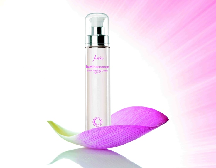 Luminessence Even Tone Day Cream SPF 15  50 ml   Code 4572  Regular Price R360  http://www.justine.co.za/PRSuite/home_page.page