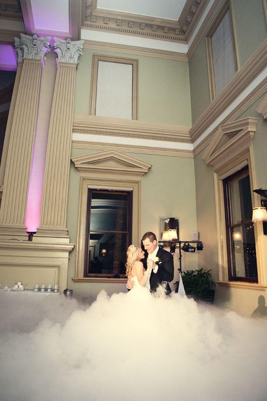 Dancing on a cloud first dance at Customs House Brisbane | G&M DJs | Magnifique Weddings #gmdjs #magnifiqueweddings #weddinglighting #weddingdjbrisbane @gmdjs