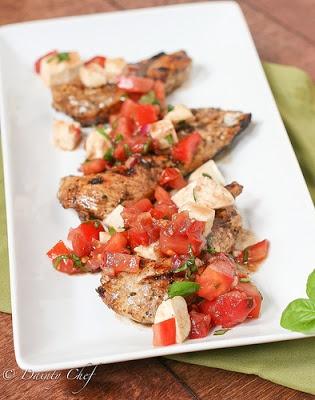 Grilled Chicken Bruschetta | chicken | Pinterest
