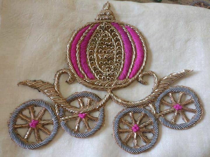 Cinderella Embroidery