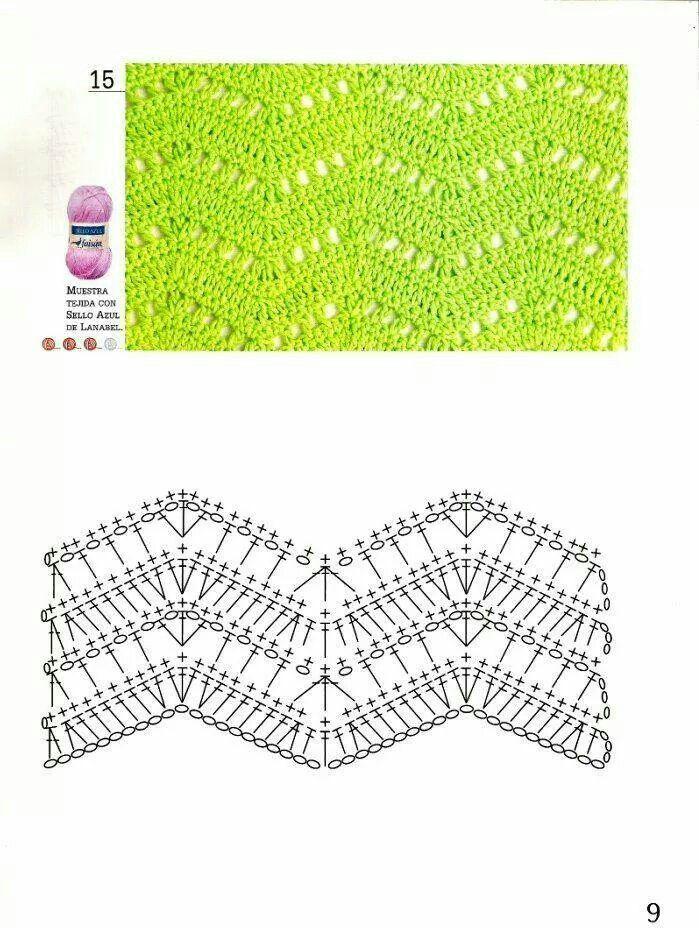 244 best גלים images on Pinterest | Crochet patterns, Crochet motif ...