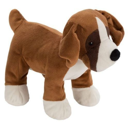 John Lewis TV Ad Buster the Boxer Dog Plush Toy, 21 cm High John Lewiss 2016 advert features a girl who loves to bounce - and this is a soft toy copy of Buster the Boxer dog from the advert. It is 21 cm high, 100% polyester and suitable for use from birth. http://www.comparestoreprices.co.uk/december-2016-4/john-lewis-tv-ad-buster-the-boxer-dog-plush-toy-21-cm-high.asp
