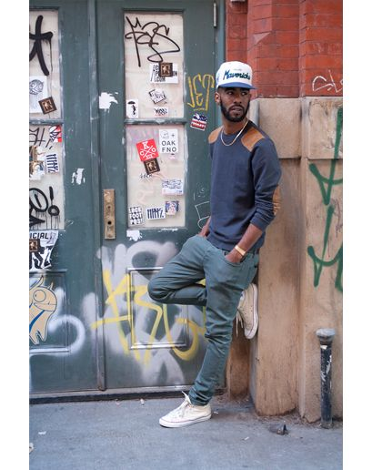 New York is becoming more fashionable with street styles seen in urban neighborhoods. This classy but casual is popular for men this fall. Dress it up with a hat and accessories or wear it casual. Maddi M.