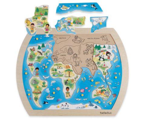Puzzle Kinder der Welt - ab 3 Jahren #Betzold #Kindergarten #Kita - Welt erkunden - Feinmotorik fördern - bietet viele Sprachanlässe