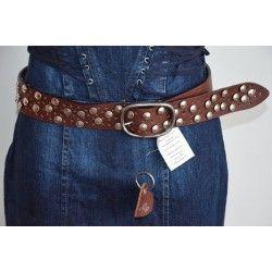Morgan dámský pásek tmavě hnědý T1; belt