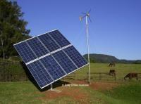 Sistem hibrid eolian-fotovoltaic 1200 watt