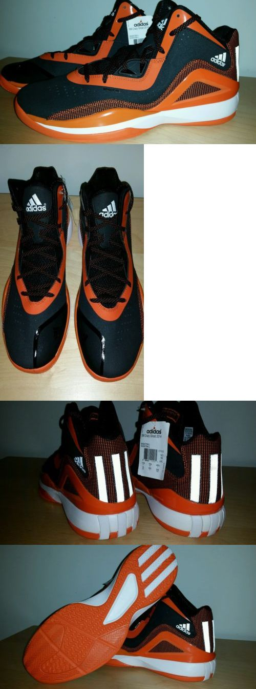 Basketball: New Adidas Sm Crazy Ghost 2014 Basketball Shoes Mens Size 14 Orange Black BUY IT NOW ONLY: $59.99